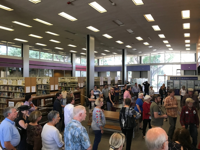 Fullerton Community Attends Special Trustee Meeting to Support Saving the Hunt BranchLibrary