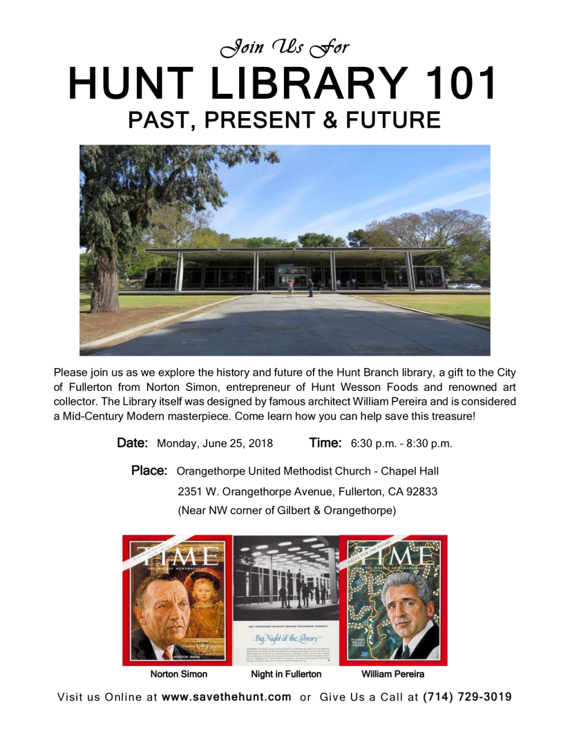 Learn About the Hunt Library's Past, Present, and Possible Future on June25