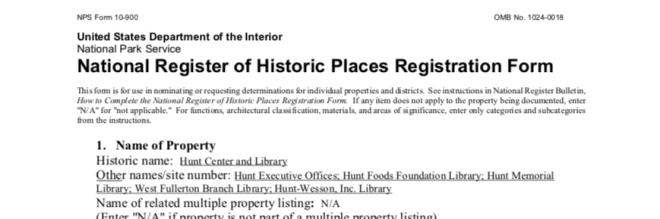 NRHP Application Image